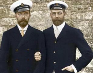 George V and Tsar